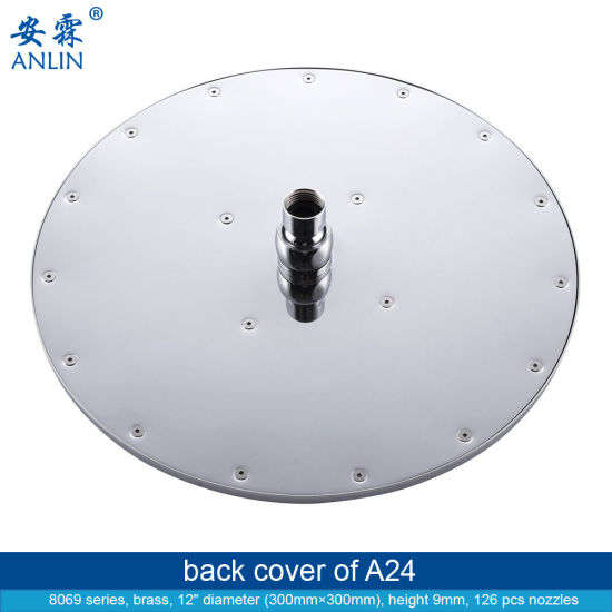 12 Inch Big Round Detachable Overhead Shower