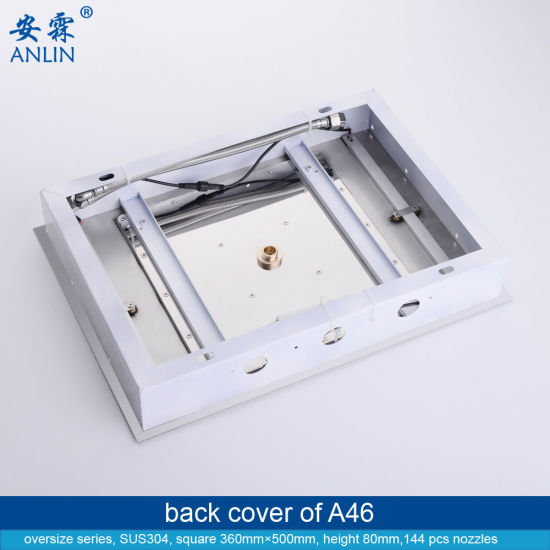 20 Inch 360*500mm LED Light Walk in Shower Enclosures