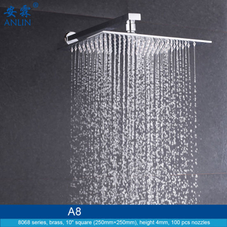 10 Inch High Pressure Overhead Shower Head